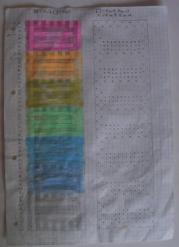 Knitting chart