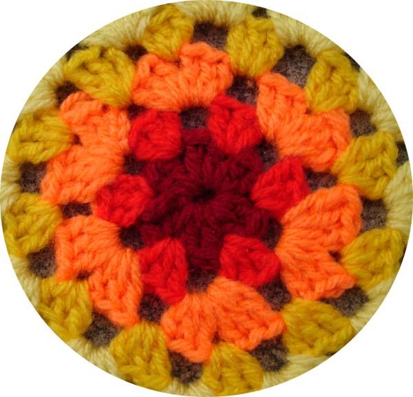 The Mathematics Of A Granny Circle Inc Pattern Rainbow
