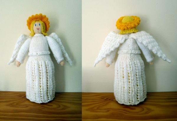 Knitting Pattern For Xmas Angel : Christmas angel pattern   Rainbow Junkie