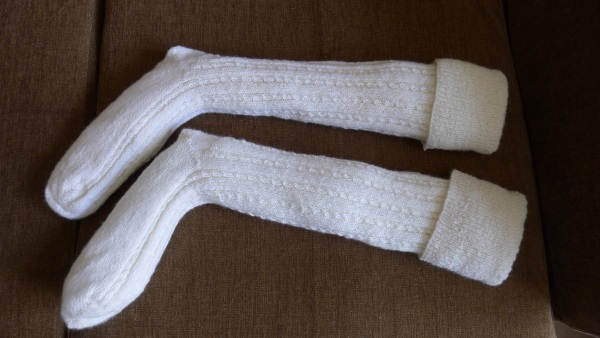 how to get my socks white again