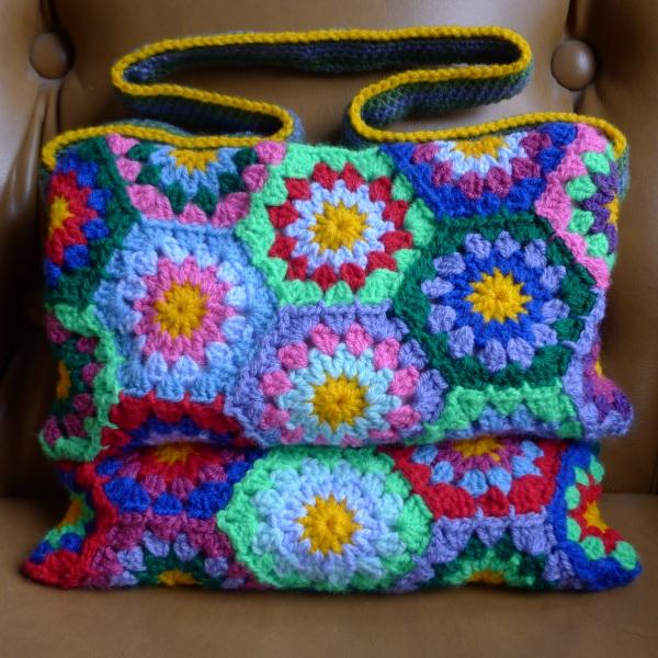 Monthly Challenge Peg Bag Rainbow Junkie