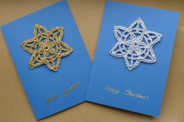 Crochet Christmas cards
