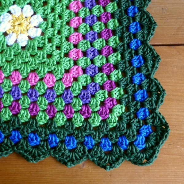 flower cloth border