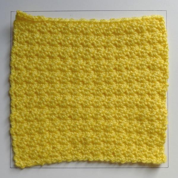 A Crochet Shower Puff Rainbow Junkie