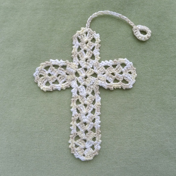 Crochet Cross : Cross Bookmark - two patterns - Rainbow Junkie