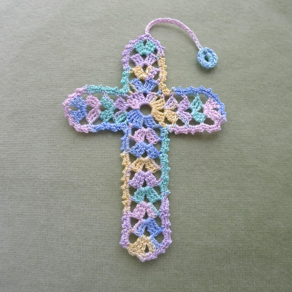 It's just a graphic of Revered Free Printable Crochet Cross Bookmark Patterns