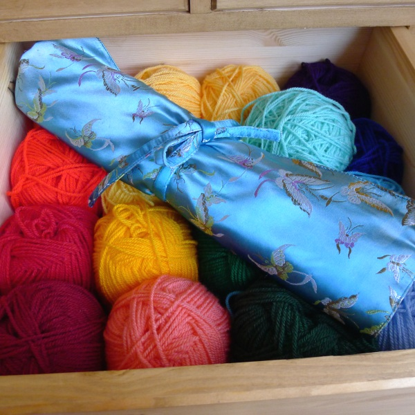 Yarn in drawer originally