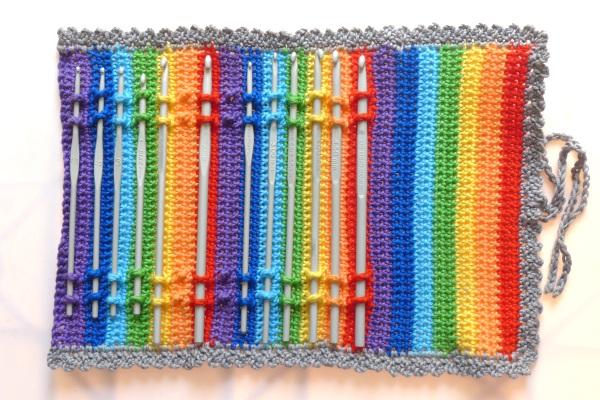 Crochet hoks in case