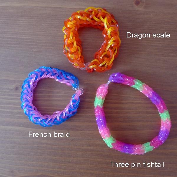 Second three bracelets
