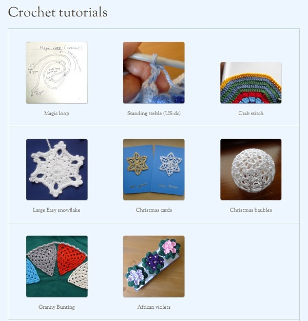 Crochet Tutorial pictures
