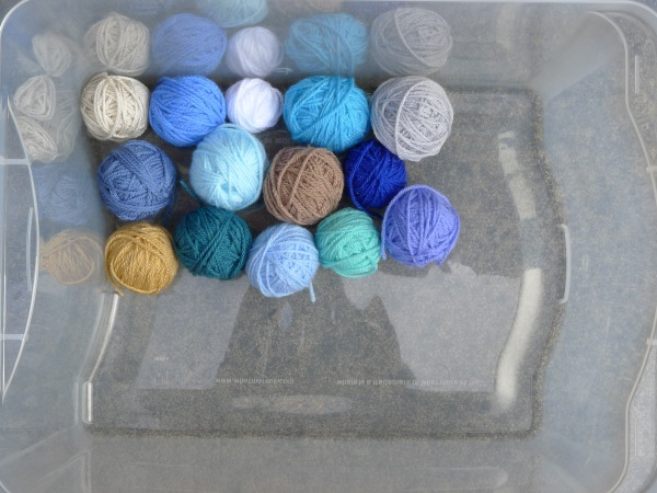 Left over yarn