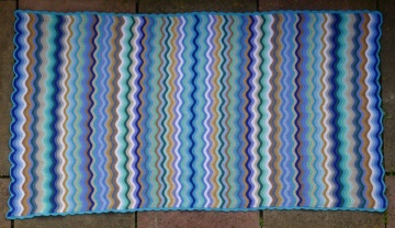 Completed sea and sand blanket