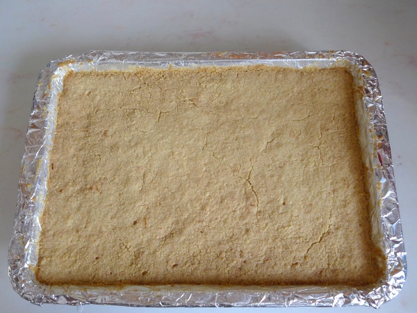 Shortbread cooked