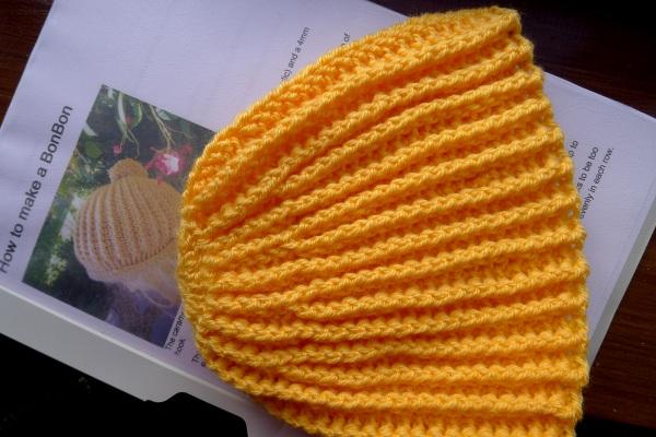Crochet bonbon