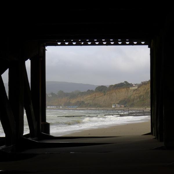 Under the pier (colour)