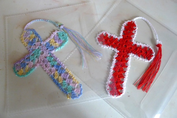 Two more cross bookmarks