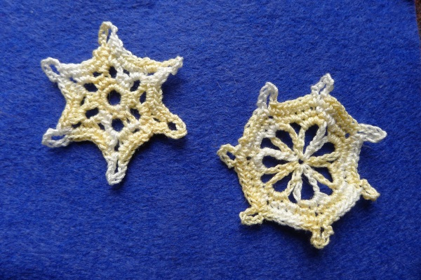 More snowflakes from book