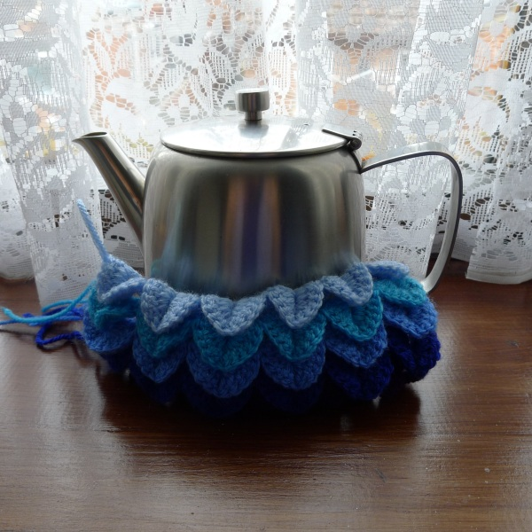 Steel teapot