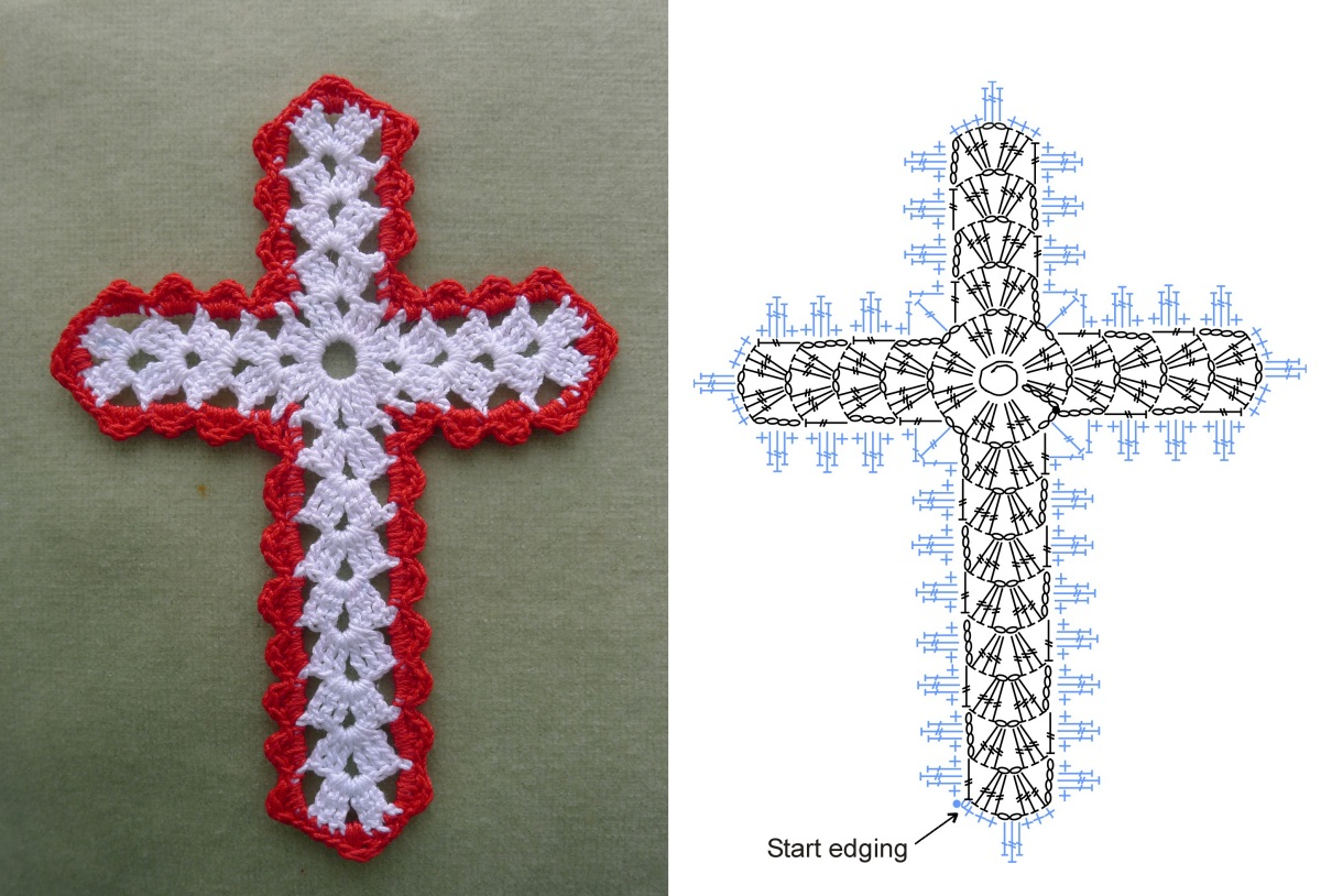 It's just a graphic of Crafty Free Printable Crochet Cross Bookmark Patterns