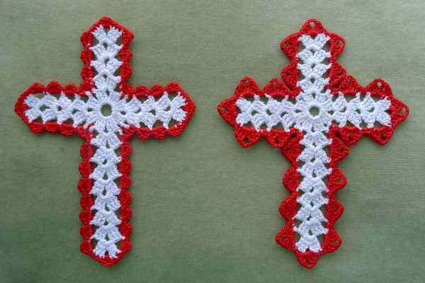 My two new cross edges