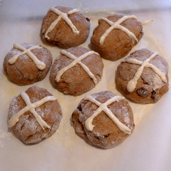 2015 buns with crosses