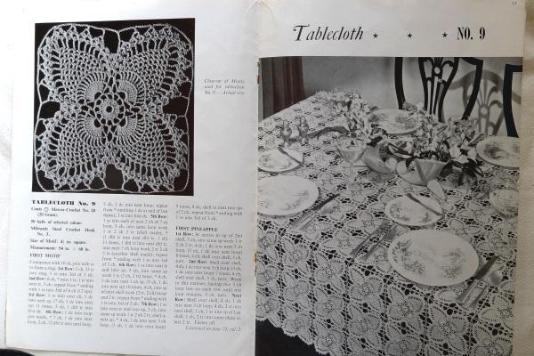 Tablecloth motif