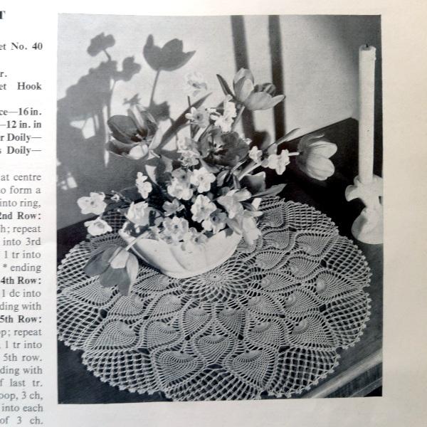 Fancier table mat