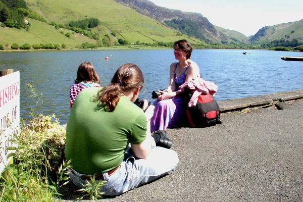Family at Tal-y-llyn