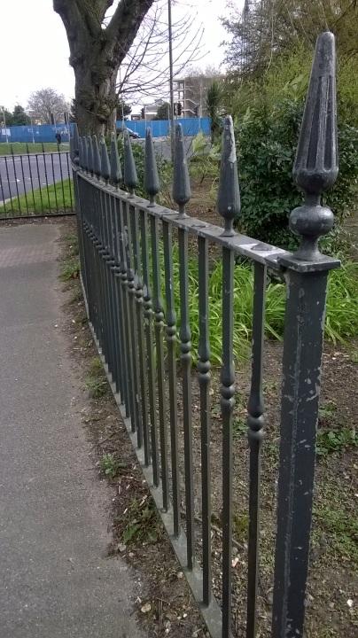 Entrance fence