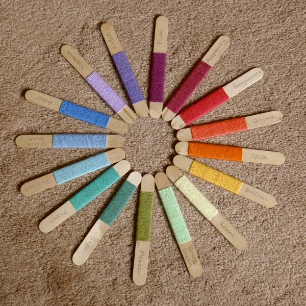 Original colours