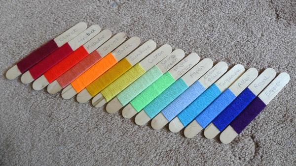 Spectrum colours