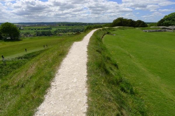 Chalk path