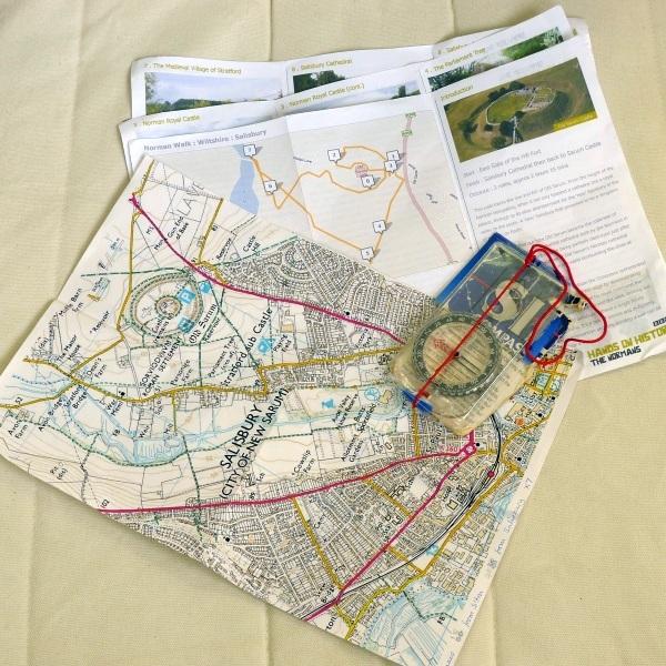 Map etc.