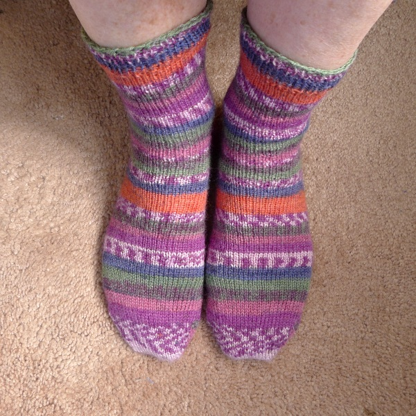Socks from front