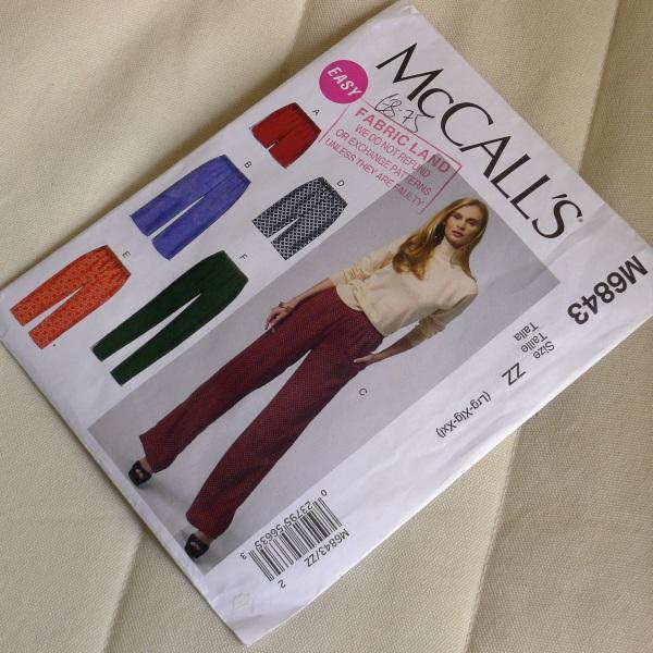 Trouser pattern
