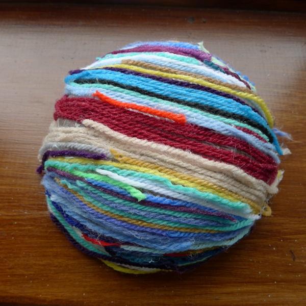 Close-up of Louisa's bowl
