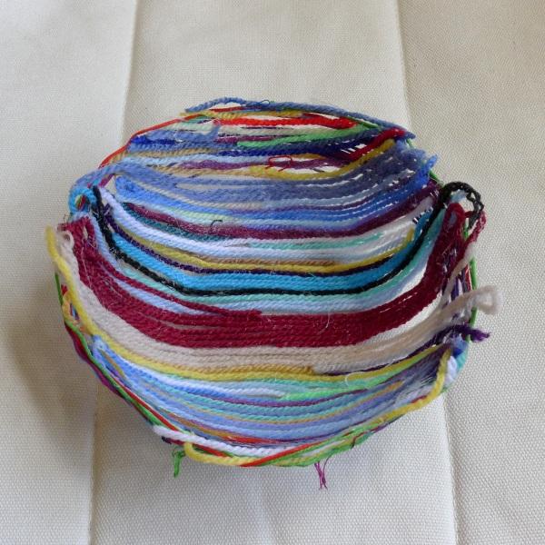 Inside Louisa's bowl