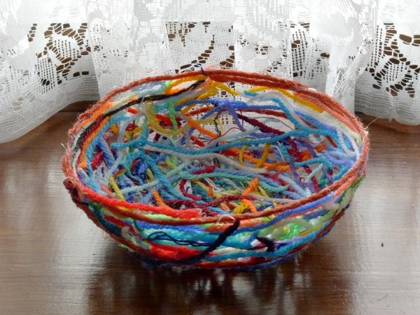 My bowl on window sill