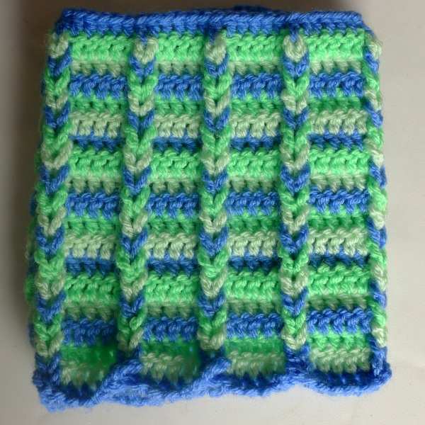 Jacob's ladder cosy front
