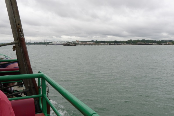 Approaching Hythe