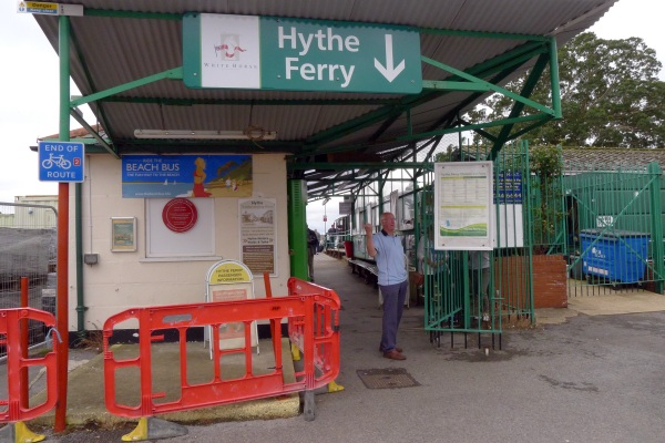 Hythe ferry entrance