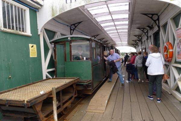 Hythe ferry train