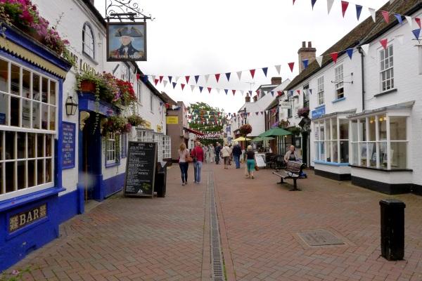 Hythe town