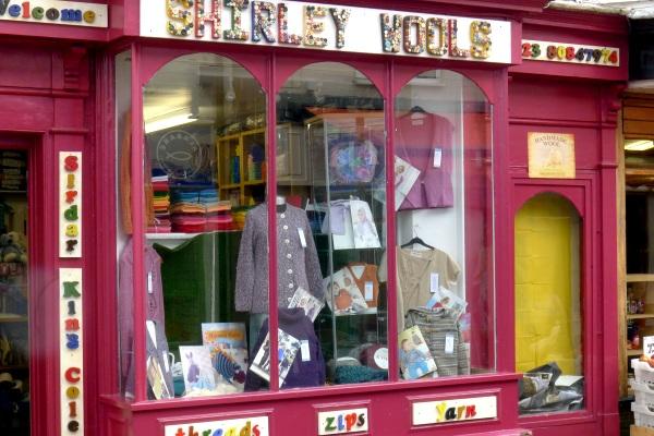 Shirley Wools shop window