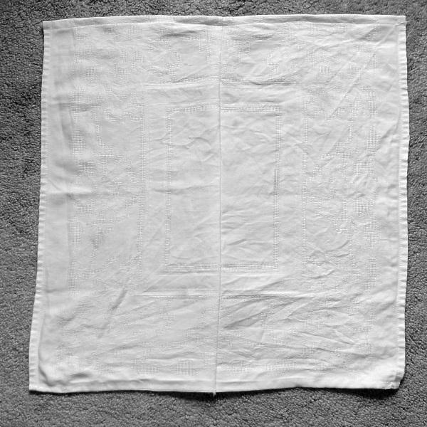 Finished napkin
