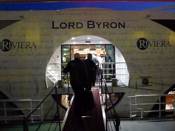 Lord Byron entrance