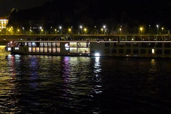 Viking river cruise ship