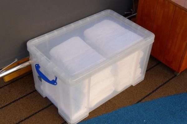 Towelsin Really Useful box