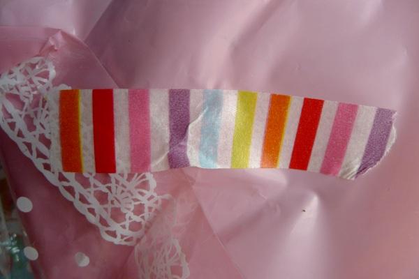 Almost rainbow tape