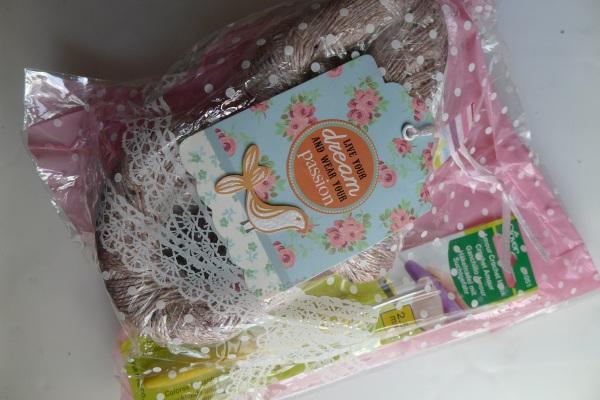 Inside parcel